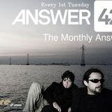 Aleksey Yakovlev - Guest Mix @ Answer42 - The Monthly Answer 029 (July 2012)