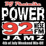 4th of July Mix-Off on WESE Power 92 JAMZ