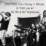 TEXTBEAK - DJ SET POPTONE PRE-PARTY B-SIDE CLEVELAND OH SEP 26 2017