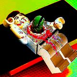 Alien Chest Buster Lego