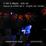 CJ Art & Abyss B2B set @ Powrot do Zrodla v.9 - Deepersense Stage (Projekt Lab - Poznan) [18.04.15]