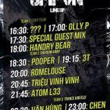 Văn Hùng & Chen LIVE @ Trance Airfield #UMFVN Feb-16th-2014