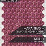 Mara Trax (Maayan Nidam & Vera), Molly - Live @ Rex Club (Paris) - 27.10.2012