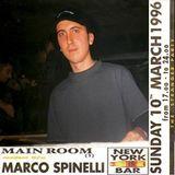 Marco Spinelli @ New York Bar (at Vertigo), Bologna - 10.03.1996 - (After Tea)