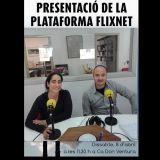 Presentació de la Plataforma FlixNet, aquest dissabte.
