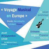 Opus au Campus par Premières Loges et l'Orchestre Régional Avignon-Provence - 28/09/2017 -RCA