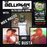 The Bellyman Show Jungle Splash warm up with Mrs Magoo and MC Busta