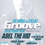 Abel the Kid @ Groove Dance Club, 20º Aniversario, Pinto, Madrid (2018)