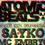 Sayko & Mc Embryo live at Atomic Beats , Three Monkeys Bar - music club, Vsetin