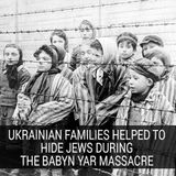 Ukrainian Families Helped To Hide Jews During The Babyn Yar Massacre