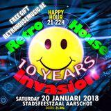 dj Bountyhunter @ Retro House Invasion - 10 Years Edition 20-01-2018