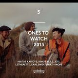 Episode 5- Ones To Watch in 2013