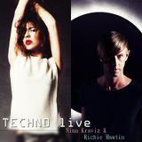 Richie Hawtin & Nina Kraviz Techno live.