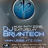 Tech22 Show Live N Direct #6 W/Dj Briantech on UEBeatz.com Lounge Edition