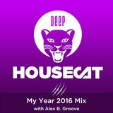 Deep House Cat Show - My Year 2016 Mix - with Alex B. Groove