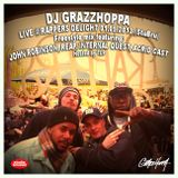 DJ GRAZZHOPPA Freestyle Mix @ RAPPERS DELIGHT (StuBru) ft: John Robinson, Reap, Internal Quest, AC
