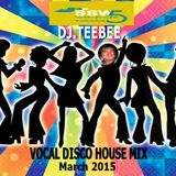 Vocal Disco House mix. March 2015