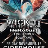 Midnight Voyage LIVE 2 year Anniversary! Wick-It The Instigator HeRobust Five Knives *Sour*Kandi**