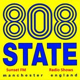 808 State @ 808 State Show - Sunset FM Manchester - 19.06.1990