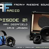 Max Deepfield & Dave Janson - Absolute Freakout: Episode 021 (01.08.2010)