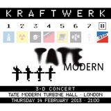 Kraftwerk - Tate Modern Turbine Hall, London, 2013-02-14