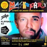 MashuParty #48 - DJ Surda & Playskull DJ (MashCat Team) - PopBar Razzmatazz (2016/04/23)
