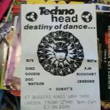 DJ Simz M.c's F.M, Infinity, Mooncat, Ricochet @ Sector Five - Future Vibe 31,3,1995