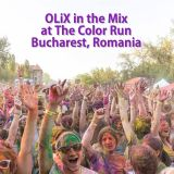 OLiX in the Mix at The Color Run Bucharest Romania 2014