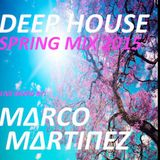 Marco Martinez - Deep House Mix Spring 2015