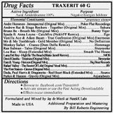 Traxerit 60 G (Aural Antidoldrumine) Mixed by Jay de Miceli at NutekK Labs