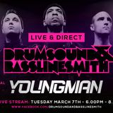 Drumsound & Bassline Smith - Live & Direct #28 Feat Youngman [07-03-17]