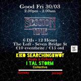 I Tal Storm Kiko SearchingBwoy Roots & Culture -Session Time- Seven Pub Loft Galway Ireland 30/3/18