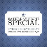 THE SATURDAY NIGHT SPECIAL (SCORPION B'DAY PARTY)(SAT 21ST NOV 2015)