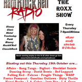 The ROXX Show at Hard Rock Hell Radio 19th Oct Affaire, LA Guns, Gasoline Outlaws, Fahran