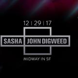 Sasha b2b John Digweed - Live @ The Midway (San Francisco, USA) - 29.12.2017