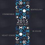 CD 3 - 2015 POCAST MIXED BY VELVET OSKAR