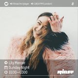 The Lily Mercer Show | Rinse FM | August 21st 2016 |