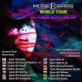 Mixcloud & Morebass present : Arespi @ Morebass World Tour Saturday - Born Just To Rave - 10-08-2016