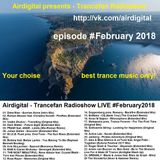 Airdigital - Trancefan Radioshow LIVE (February 2018-02-09) stream