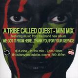 DJ D-Zine - A TRIBE CALLED QUEST - NEW LP MINI MIX (14th Nov 2016)