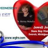 WGLRO Radio Wellness Weds with Dr. Shirley Mckellar and Jewell Jones 4-4-2018