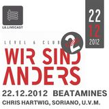22.12.12 Wir sind Anders with Beatamines, Chris Hartwig and many more I