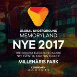 Ricardo Piedra - Legendary Moments & Global Underground NYE 2017 promo mix