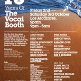 Vocal Booth Weekender Radio Show - VB2009. The first ever live broadcast.