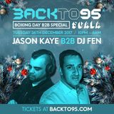 Podcast 203: DJ Fen Backto95 Boxing Day b2b Special Promo Mix