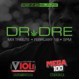 Dr. Dre Birthday Mix Tribute on 101.1 FM V101 Sacramento 2019 (Airdate 2/18/19)