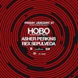 Hobo - Live @ Marble Bar & Paxahau presents Hobo (Detroit, USA) - 27.01.2017
