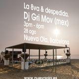 Selva Marina - Gri Mov (live set @ Nueva Ola, Barcelona beach)