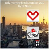 early morning breaks october 2017