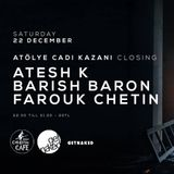 Atesh K. - Live DJ Set at Cadı Kazanı - 22.12.201